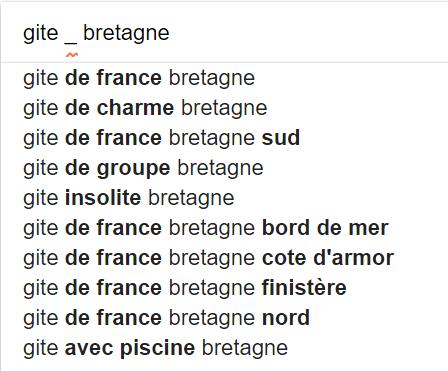 recherche google special