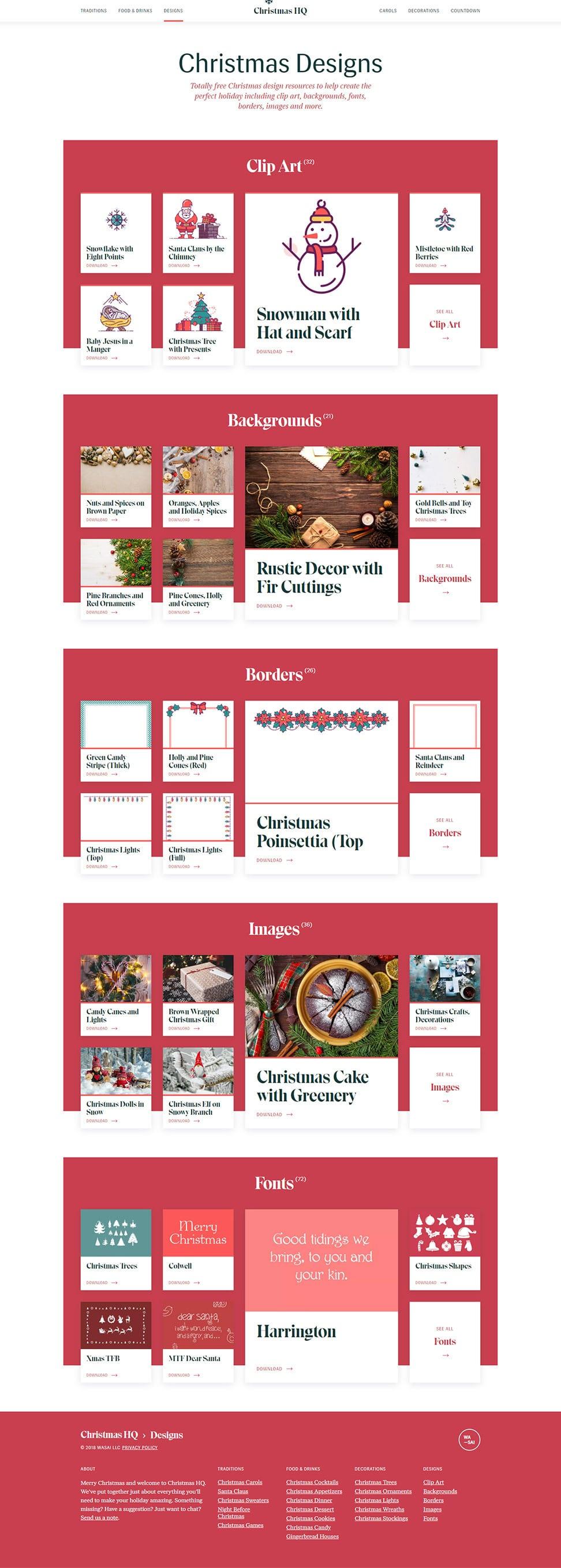 christmashq designs 2018