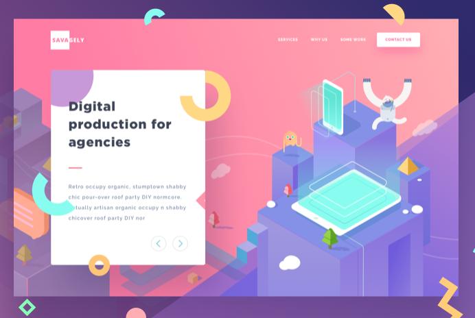 graphic brand webdesign tendance 2019