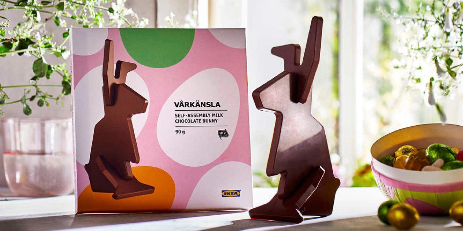 Et si pour Pâques, vous montiez vous-même votre lapin en chocolat ?