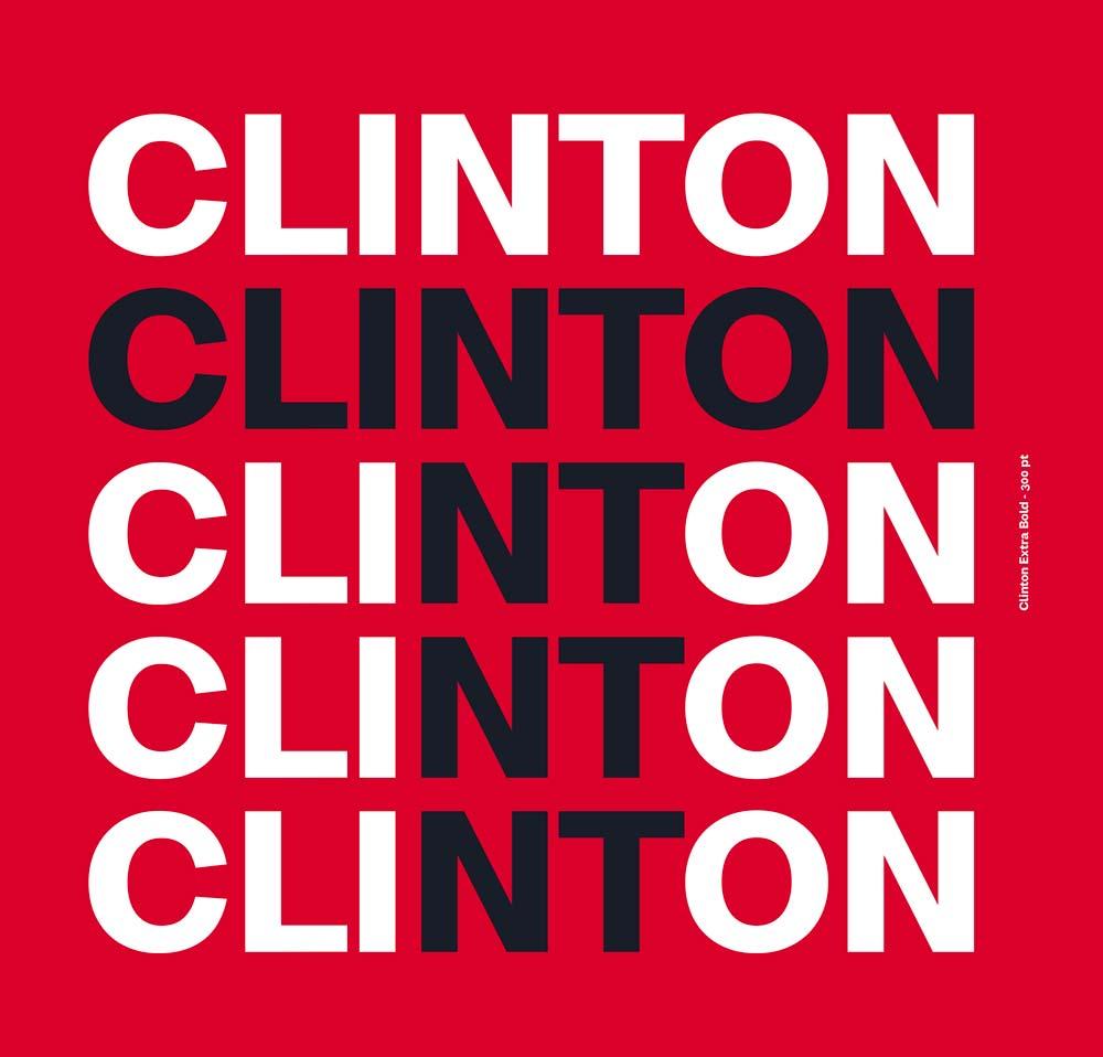 Clinton typographie gratuite 2