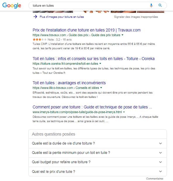 résultat de recherche