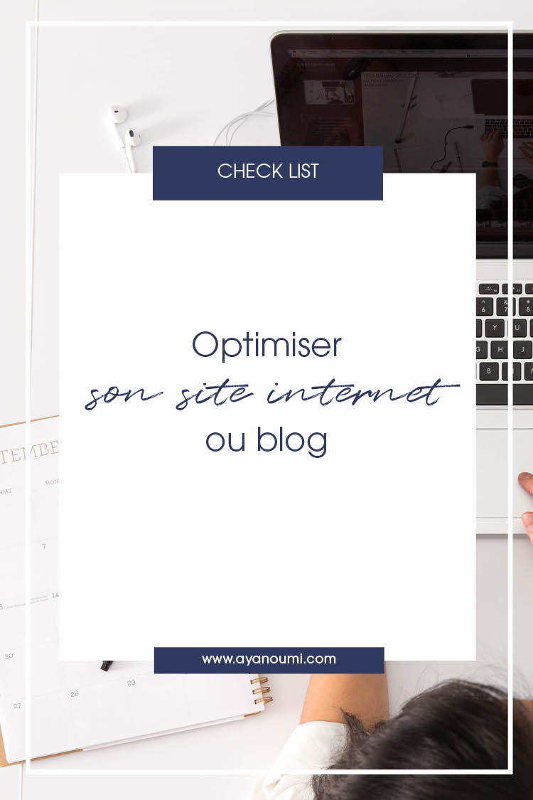 Ayanoumi Optimiser son site internet ou blog